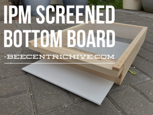 Beecentric Hive, IPM Bottom Board