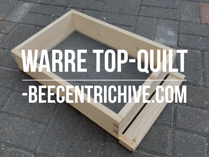 Beecentric Hive, Warre Top Quit